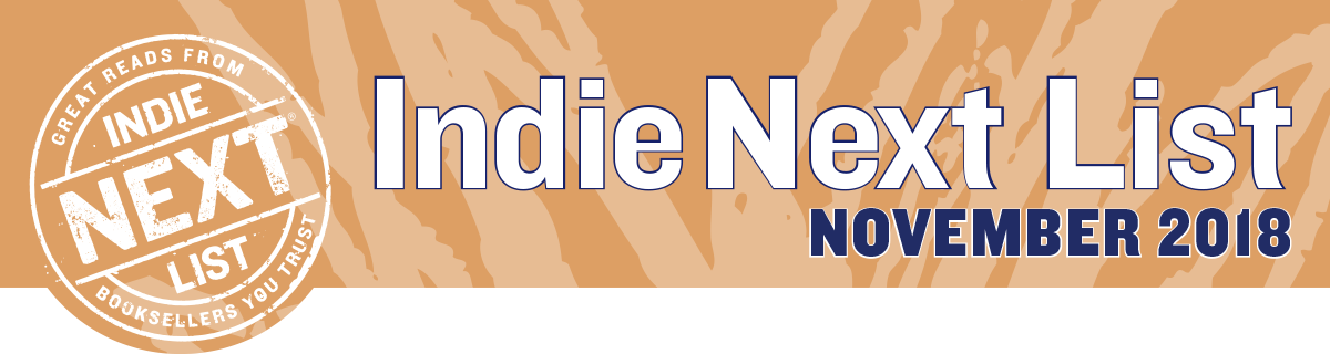 November 2018 Indie Next List Header Image