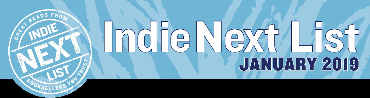 January 2019 Indie Next List Header Image